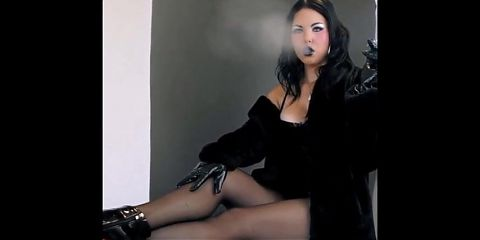 Smoke in latex