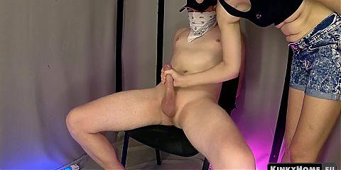 Orgasm control slave training - bondage femdom