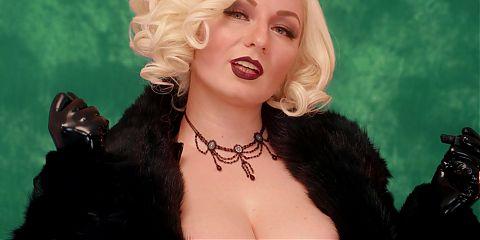 Femdom JOI POV Fur and Smoke Fetishes FREE porn video